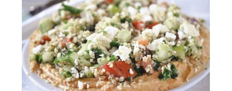 Hummus & Tabbouleh Salad