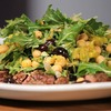 Flank Steak With Chickpea Arugula Salad from Bertolli Olive Oil