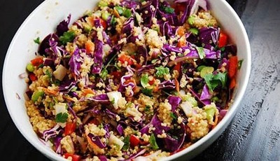 Crunchy Thai Quinoa Salad