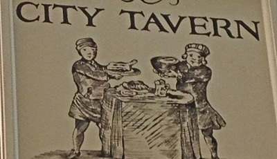 Dining with the Founding Fathers at the City Tavern Restaurant in Philadelphia #wordlesswednesday