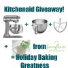 Kitchenaid Mixer + Accessories Giveaway!
