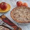 Gluten Free Oatmeal Crumb Apple Peach Pie