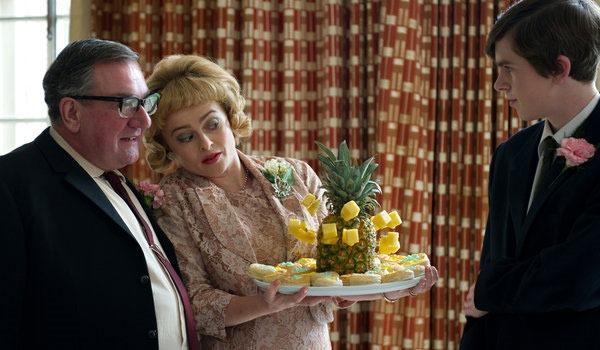 Still from Toast movie with Helena Bonham Carter and Freddie Highmore.