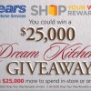 $25,000 Dream Kitchen Giveaway Sears Shop Your Way Rewards Sweepstakes & Twitter Party #SearsKitchen