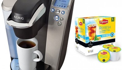 Lipton K-Cup 3-Pack and Keurig Platinum Plus Brewing System Giveaway {$205 value}