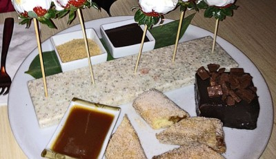S'mores Strawberries on Sticks
