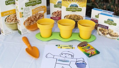 Flat Stanley Goes Organic – Cascadian Farm Giveaway