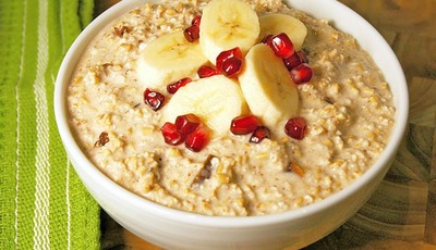 "Stay healthy during the holidays: Raw Oatmeal ""Risotto"""