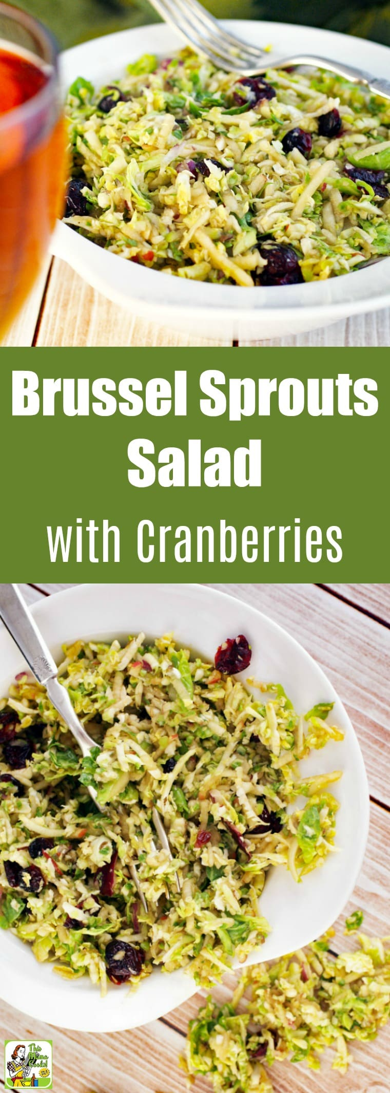 Brussel Sprouts Salad with Cranberries Recipe