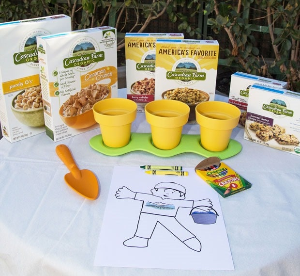 Flat Stanley Goes Organic - Cascadian Farm Giveaway at This Mama Cooks! On a Diet - thismamacooks.com