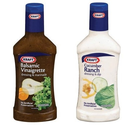 Kraft dressings