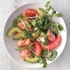 Grapefruit, Salmon, and Avocado Salad