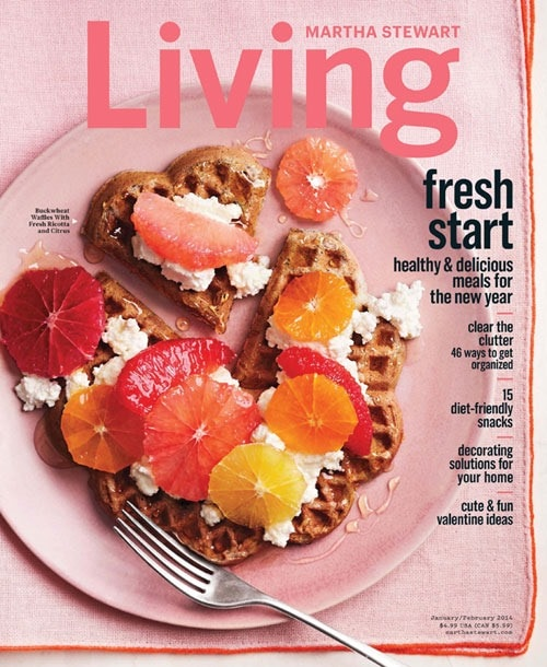 January/February 2014 issue of Martha Stewart Living