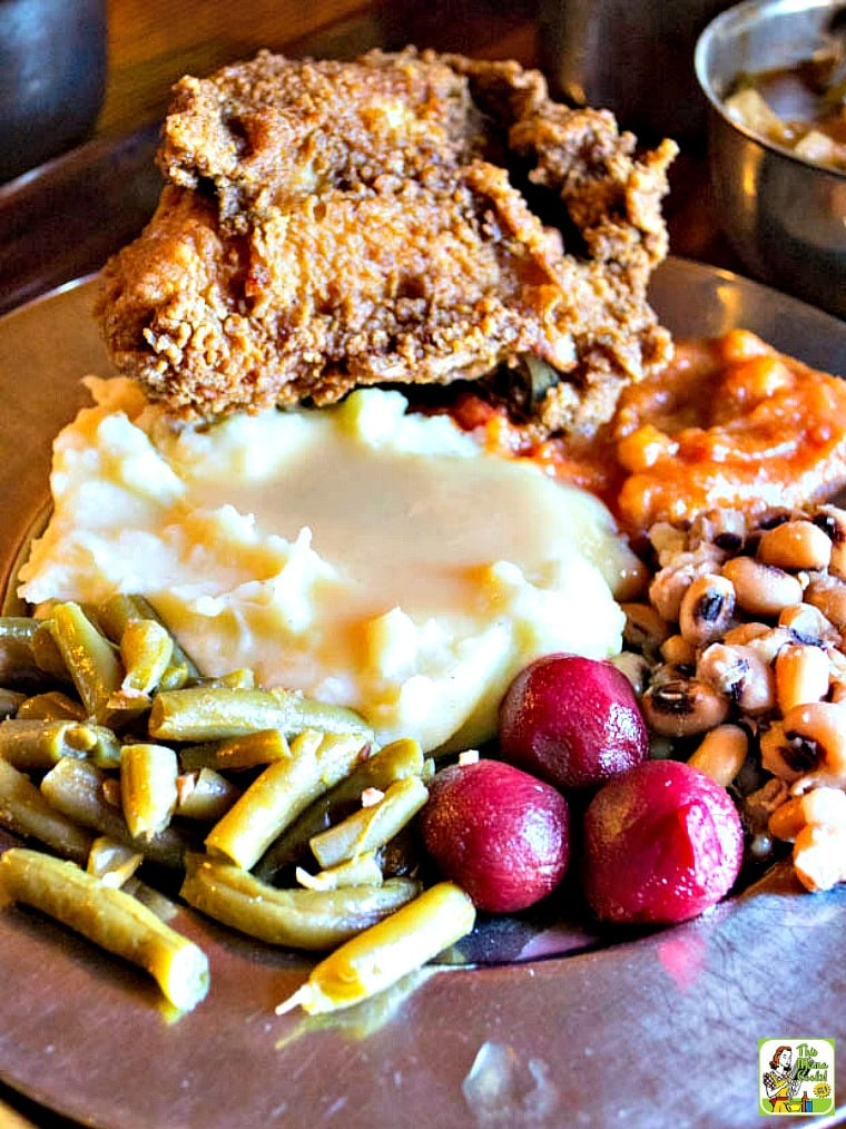"The Michie Tavern in Charlottesville, VA features Southern fare ""at the ordinary"""