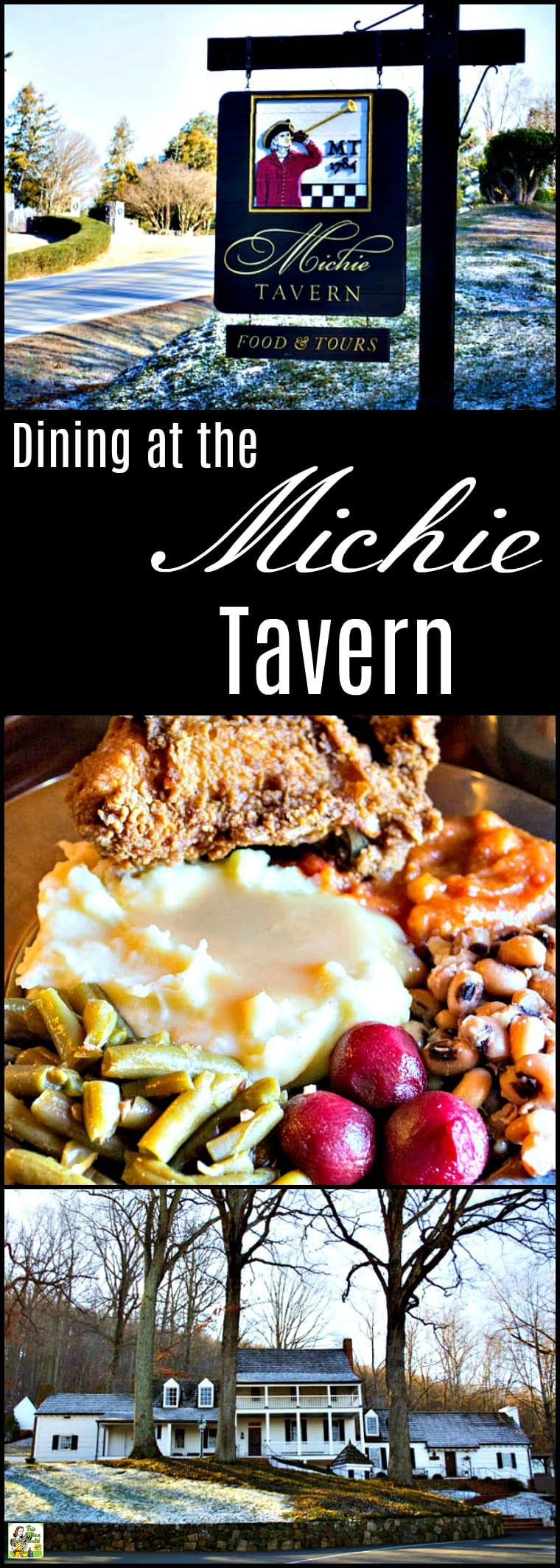 "Visit the Michie Tavern in Charlottesville, VA. Take a tour and then enjoy a meal of Southern fare ""at the ordinary."" #michietavern #travel #charlottesville #virginia #restaurants"