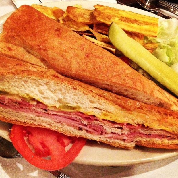 Columbia Restaurant Cuban Sandwich at This Mama Cooks! On a Diet - thismamacooks.com