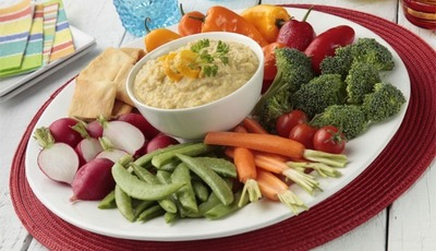 Heart healthy Citrus Hummus