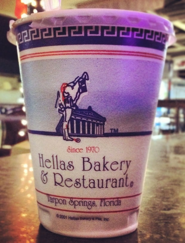 Hellas Bakery Restaurant coffee - This Mama Cooks! On a Diet Travels - thismamacooks.com