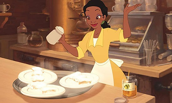 Tiana's Famous Beignets from Princess and the Frog at This Mama Cooks! On a Diet - thismamacooks.com