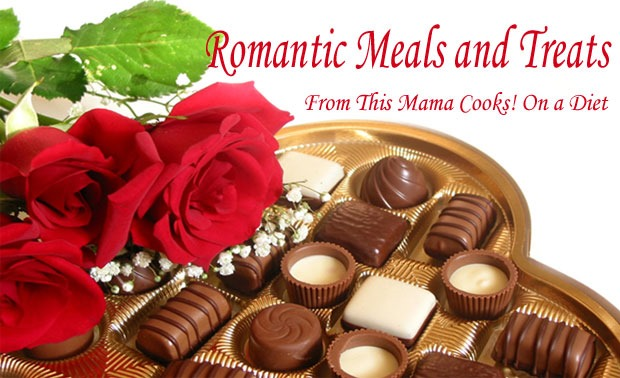 Romantic meals and treats for Valentine's Day from This Mama Cooks! On a Diet - thismamacooks.com