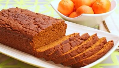 Gluten Free Orange Pumpkin Bread