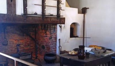 The kitchen at George Washington's Mt. Vernon