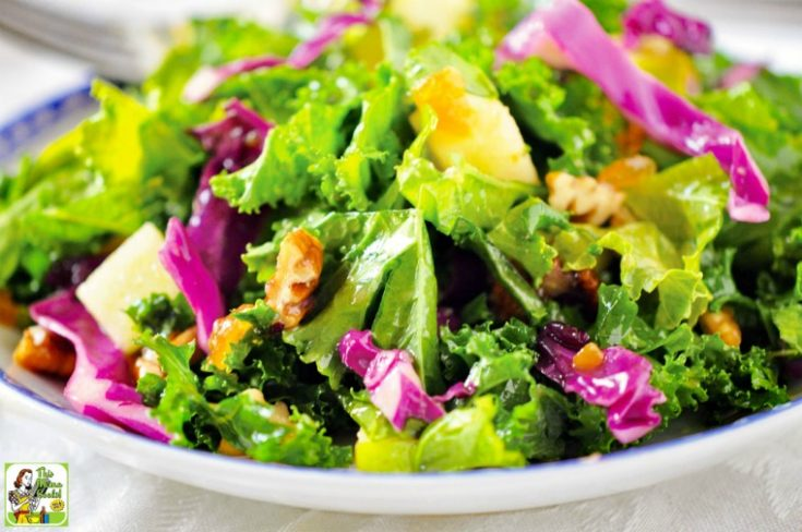 Kale Salad with Fruity Vinaigrette Recipe