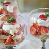 Healthy Strawberry Cheesecake Parfaits