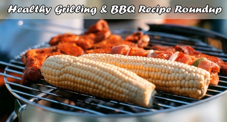 Fire up the grill! Healthy grilling and BBQ recipe roundup at This Mama Cooks! On a Diet - thismamacooks.com