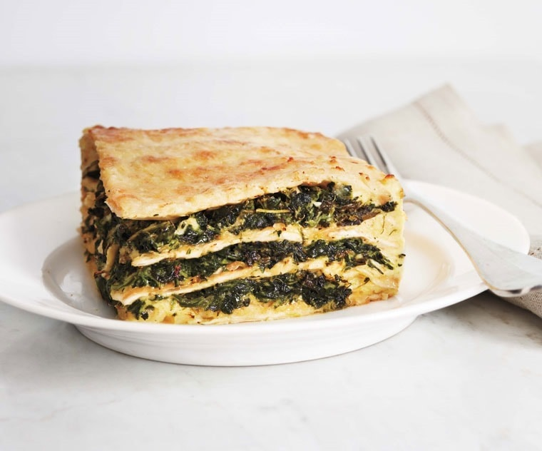 For Passover, Matzo Lasagna from This Mama Cooks! On a Diet - thismamacooks.com