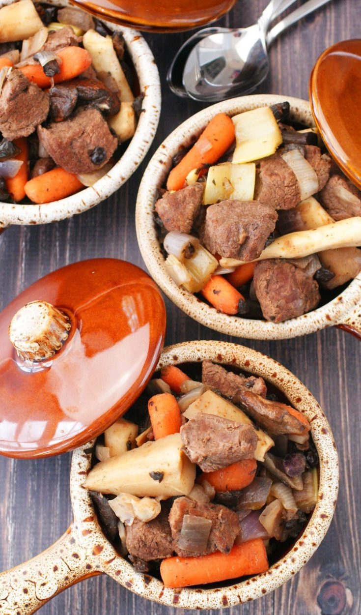 Slow Cooker Juniper Venison Stew Recipe