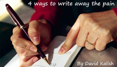 4 ways to write away the pain