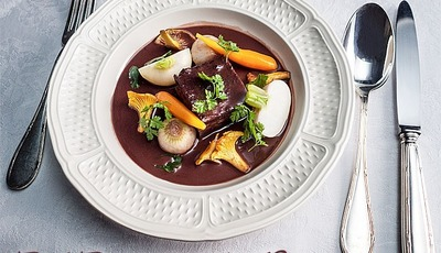 Beef Bourguignon à la Hassan from The Hundred-Foot Journey