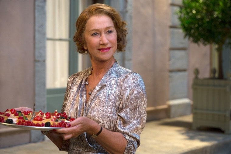Learn about Helen Mirren in The Hundred-Foot Journey at This Mama Cooks! On a Diet - thismamacooks.com