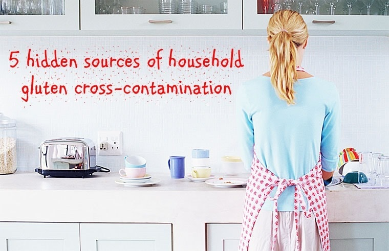 5 hidden sources of household gluten cross-contamination from This Mama Cooks! On a Diet - thismamacooks.com