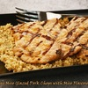 Gluten Free Miso Glazed Pork Chops with Miso Flavored Quinoa