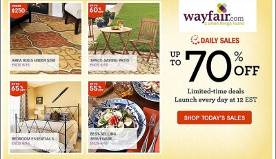 Save money on entertaining with Wayfair Daily Sales!