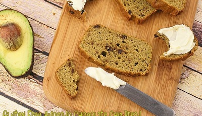 Gluten Free Avocado Chocolate Chip Bread