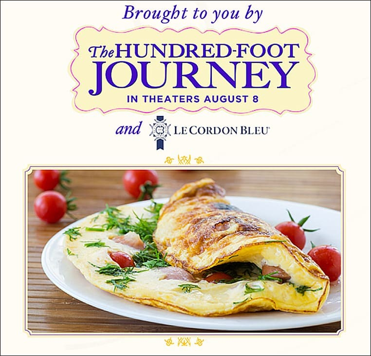 Omelette aux Fines Herbes from The Hundred-Foot Journey at This Mama Cooks! On a Diet