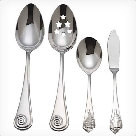 Shopping Wayfair.com Daily Sales - Reed & Barton 4 Piece Hostess Serving Set - This Mama Cooks! On a Diet - thismamacooks.com