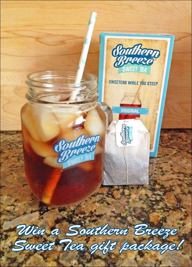 Win a Southern Breeze Sweet Tea gift package at This Mama Cooks! On a Diet - thismamacooks.com