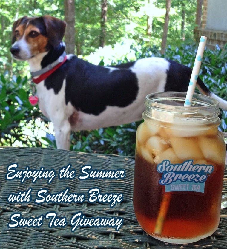 Enjoying the Summer with Southern Breeze Sweet Tea Giveaway at This Mama Cooks! On a Diet - thismamacooks.com