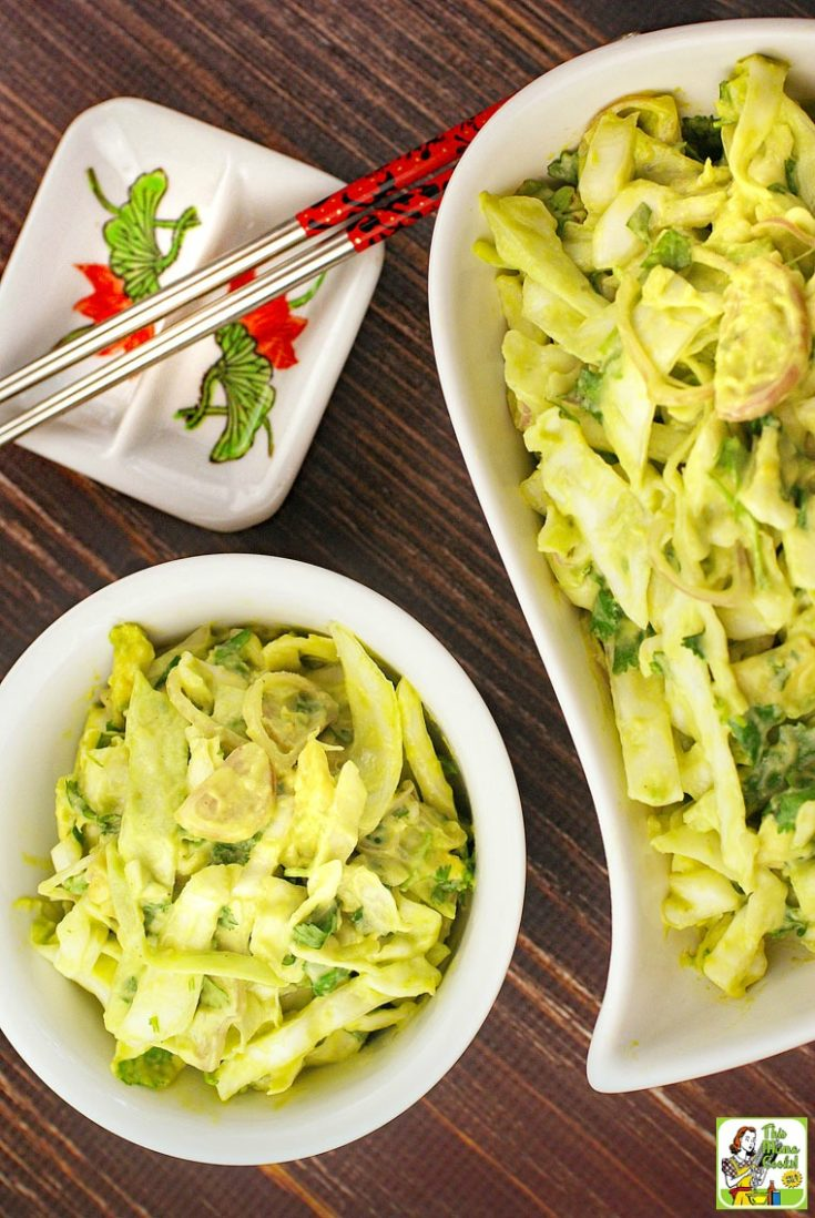 Wasabi Coleslaw Recipe