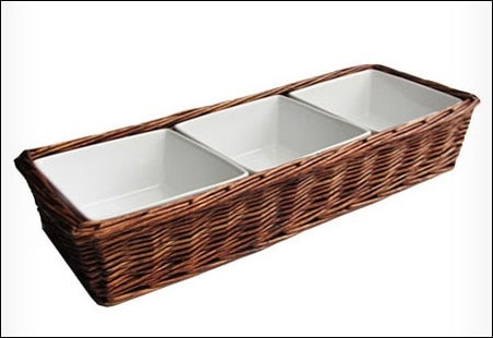 Shopping Wayfair.com Daily Sales - American Atelier Willow Three Section Serving Tray - This Mama Cooks! On a Diet - thismamacooks.com