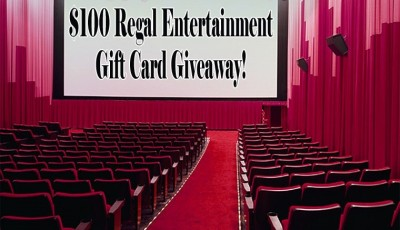 Win a $100 Regal Entertainment Gift Card!