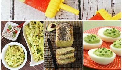 Healthy avocado recipe roundup