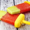 Avocado Watermelon Ice Pops Recipe