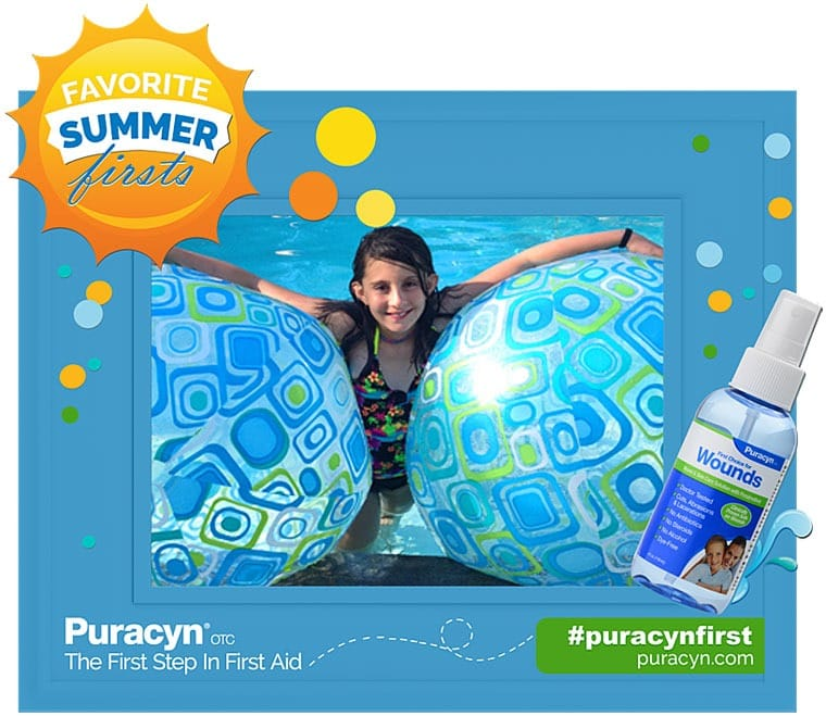 Favorite Summer Firsts with Puracyn OTC Wound & Skin Care. Learn more at This Mama Cooks! On a Diet - thismamacooks.com #ad