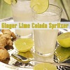 Party organically with VitaFrute Cocktails – Ginger Lime Colada Spritzer