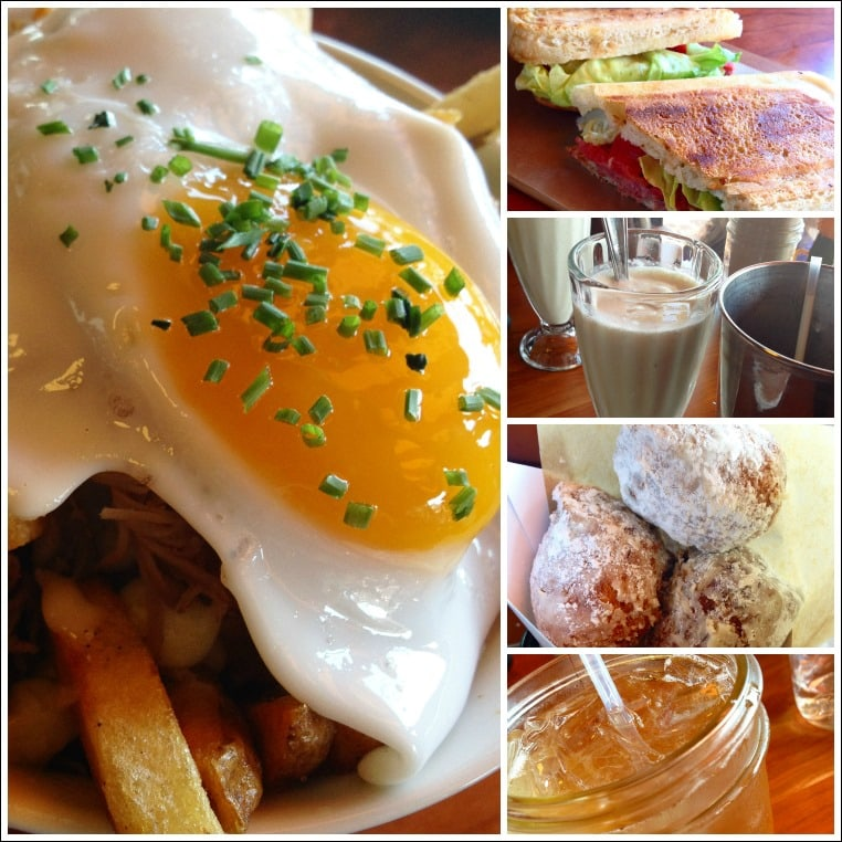 duck fat portland main collage